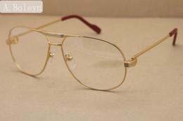 2019 goldene brücke sonnenbrille Brillenfassungen für Männer 1038366 Vollformat Brillen aus Metall oculos de grau masculino Rahmengröße: 59-12-140mm
