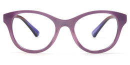 Wholesale Purple Glass Cleaner - 2017 New Fashion Street Style Glasses Purple Beige TR90 Frame Glasses For Wemen With Box And Clean Cloth