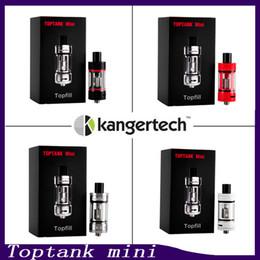 4 мл бак онлайн-Kangertech Toptank Mini Tank Распылитель, 4 мл, сабвуфером, Наполнение верхней части бака с помощью Kanger SSOCC Подходит для катушки Kbox Mini 75W TC Mod 0266061-2