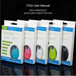 Wholesale alarm x - Smart bluetooth iTag Anti-lost burglar Alarm children GPS Tracker Remote control shutter gifts for parents iphone x 6s 7 8 plus SAMSUNG S8