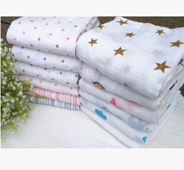 Wholesale Wholesale Aden Anais - 120*120cm Aden + Anais Muslin Swaddle Blanket Newborn Baby Bath Towel Aden And Anais Swaddle Blankets Functions Baby Swaddle Blanket 1048m