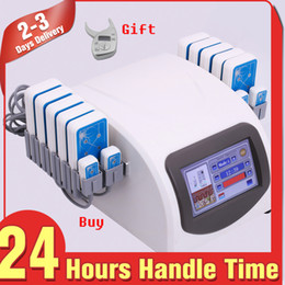 Wholesale Laser Slim Pro Lipo - Pro 14080mw Lipo Laser LLLT Lipolysis 14 Pads Body Slimming Weight Fat Dissolve with Fat Caliper