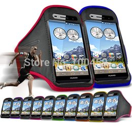 Wholesale Ascend P6 Accessories - Wholesale-For Huawei Ascend P6 Outdoor Travel Accessory Gym Running Sports Armband Case Cover With Free Shipping For Huawei Ascend P6