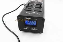 Wholesale Strip Poles - Weiduka multifunction display lightning power filter Europe and the US power strip switch control with universal socket