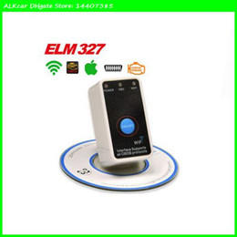 Wholesale Honda Stores - ALKcar WIFI ELM327 Auto Code Reader for iPhone Ipad OBDII ELM327 WIFI interface ELM 327 Wifi OBD2 Scanner for iPhone Store: 14407385