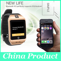 Wholesale Compass For Watch - New Smart Watch i8s MTK2502 Bluetooth with Compass,weather forecast,support SIM TF Card for ios android Smartphone Watch 010188