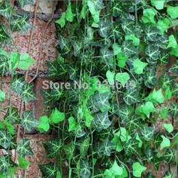 Wholesale Best Artificial Plants - Wholesale-Flowers Home decor 7.5 feet Artificial Ivy Leaf Garland Plants Vine Fake Foliage Best Selling