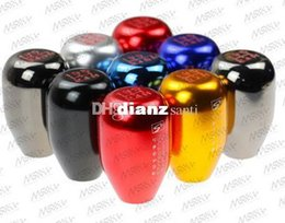 Wholesale Chrome Speed - Fashion Hot Skunk2 (M10*1.5) Racing 5 SPeed Car Shift Knobs