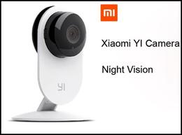 Wholesale Wireless Mini Micro Camera - Xiaomi Xiaoyi 720P IP Camera Xiaomi camera Mi IP camera wifi wireless Xiaoyi HD 720P micro mini camera Yi CCTV Ant video security cam