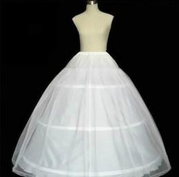 Wholesale Wholesale Bridal Petticoats - 3 Hoop 1 tulle Wedding Bridal Gown Dress Petticoat Underskirt Crinoline Wedding Accessories