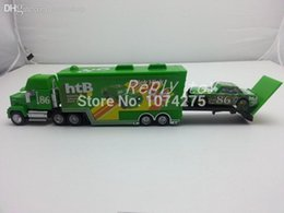 Wholesale Pixar Cars Free Shipping - Wholesale-Pixar Cars Mack Uncle & No.86 Chick Hicks Metal Diecast Toy Car 1:55 Loose Brand New In Stock & Free Shipping