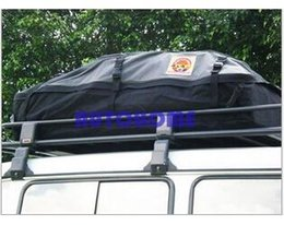 Wholesale Roof Car Carriers - 1 X Large Waterproof Car Roof Bag Cargo Top Carrier Roof top Auto Foldable Bag order<$18no track