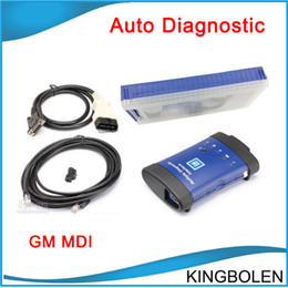 Wholesale Gm Tech Tis - Newly Arrive Vauxhall   Opel GM MDI (Tech 3) OEM Level Diagnostics Interface support Global TIS, GDS 2, Tech2Win software DHL Free Shipping