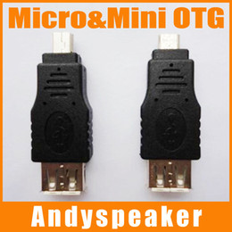 Wholesale Mini Hdmi Female - Micro OTG Adapter Mini OTG USB Switch Micro&Mini Adapter Black HDMI Male to Female High Speed Good Quality 300pcs up