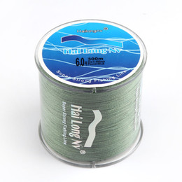 Wholesale Fish Braided Line - Brand fishing line 300M PE Multifilament Braided Fish Line 4 Strands 8lb 80lb Carp Fishing Rope Cord fishing tackle