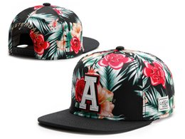 Wholesale Snap Woman - 2016 new floral snapback cap baseball bone gorras sport hip hop snap back hat for men women fashion flower cotton good quality many styles