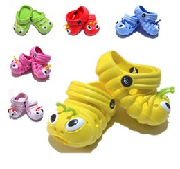 Wholesale Slipper Caterpillar - Wholesale-2015 Personalized Shoes Baby Shoes Caterpillar Baby Shoes Children's Slippers Free Shipping