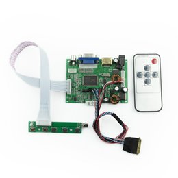 "Wholesale 42 Monitors - HDMI VGA 2AV 30P DS Controller Board Module Monitor with Remote for Raspberry PI 2 3.3V 5V 12V 5.6""-42"" LCD LED Display Panel"