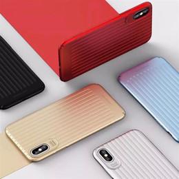 Para el diseño colorido de la cubierta dura plástica del caso que viaja de Usams del iPhone X con el paquete al por menor 50pcs / up desde fabricantes