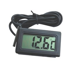 Wholesale Digital Thermometer Panel Meter - 1PC New Arrival Hot Sale LCD Digital Panel Thermometer Temperature Meter Instruments, Free & Drop Shipping A3