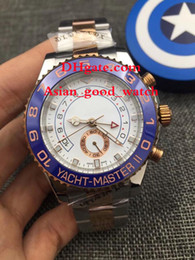 Montre homme de haute qualité 44MM 116681 asie 2813 mouvement cadran blanc deux bracelets en or bracelets montre en or rose lunette automatique montres hommes ? partir de fabricateur