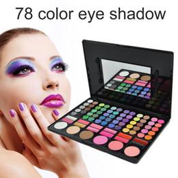Wholesale Eyeshadow Makeup Palette 78 - Eye Shadow 78 Colors Eyeshadow Palette Earth Color Lady Nude Eyeshadow Palette Eye Shadow Makeup Powder Palette