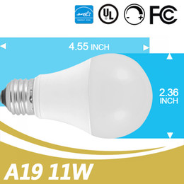 Wholesale Chinese Led Bulbs - Chinese Led Bulbs Supplier 280 Degree 2700-5000K E26 Dimmable 11W A19 Led Bulb Low Profile UL Energy Star Listed