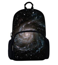 Wholesale Light Purple Canvas Backpack - Amazing Galaxy Printing Backpack For College School Teenager Student Outdoor Purple Women Backpacks Mochila Feminina Book Bags