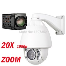 Wholesale Ip Optical - FULL HD 1080P PTZ Camera 20x optical zoom Security cctv ip camera system free shipping
