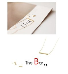 Wholesale Sideways Rhinestone Hearts - New Fashion Jewelry Pendant Necklaces Gold Silver Tiny Sideways Square The Bar Necklace Simple Stick Necklace Modern Minimalist Short Chain