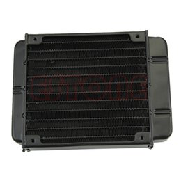 Wholesale Water Cpu - Wholesale- New 120mm Aluminum Computer Radiator Water Cooling Cooler for CPU LED Heatsink