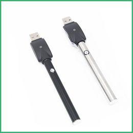 2019 e caneta de vapor inteligente Novo 510 botão vape caneta bateria e-inteligente visão estilo 280 mah 350 mah bud toque caneta vape cartucho de pirex de óleo de CO2 e caneta de vapor inteligente barato