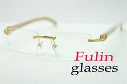 Lunettes de lecture de haute qualité pour hommes femmes portent lire ordinateur yeux lunettes blanc temple t8100907 taille: 54-18-140mm ? partir de fabricateur