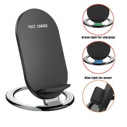Cargador inalámbrico rápido Quick 2 Coils Qi Charger Dock Phone Holder para Samsung Galaxy S7 S8 Note8 iPhone X 8 Plus desde fabricantes