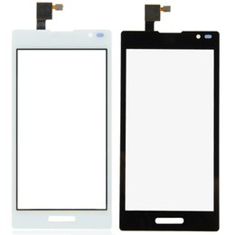 Wholesale Lg Optimus L9 Black - Free shipping new replace white and black Touch Screen Digitizer Replacement For LG Optimus L9 P760 Free Shipping