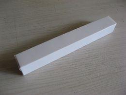 Wholesale Wholesale Bio Degradable - 10 PCS No logo White box Multiple Paper box Pen Packing box sizes 156x20x20MM