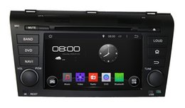 Wholesale Old English - Pure Android 4.4.4 Cortex A9 Dual-core 7inch Capacitive Multi-touch Screen Car DVD Player For OLD MAZDA 3 2004-2009 With GPS Navigation