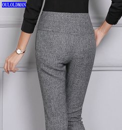 Wholesale Working Clothes Styles For Women - 2017 Women Formal Pants for Office Lady Work Wear Straight Trousers Full Length Korea Style Female Clothing Business Plus Size