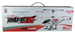 Wholesale Smart Rc Helicopter - Wholesale-T-Smart 826 3.5Channel Strong Anti-wrestling Infrared RC Helicopter