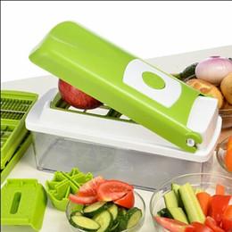 Wholesale Dicer For Vegetables - Discount Nicer Dicer Plus Vegetable Fruit Multi Peeler Cutter Chopper Slicer Kitchen Cooking Tools For Salad