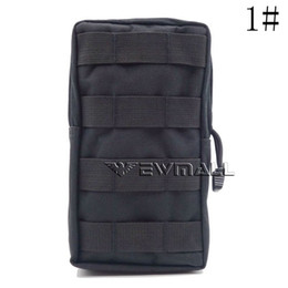 Wholesale utility waist pack - Tactical MOLLE PALS Modular Waist Bag Pouch Utility Pouch Magazine Pouch Mag Accessory Medic Tool Pack
