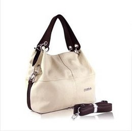 Wholesale Green Casual Bag Women - 2015 HOT Item Women Handbag PU Leather bags women messenger bag  Splice grafting Vintage women bag Shoulder Crossbody Bags