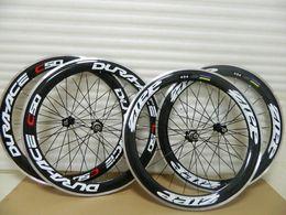 Wholesale Aluminum Road Wheelset - Dure Ace C50 Aluminum Dura wheels clincher C50 carbon road bike wheels 700c carbon wheelset bicycle wheels