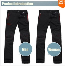 Wholesale Travel Pants For Men - Wholesale-2015 Summer sports pants women's and man quick dry outdoor pants for fitness motorcycle breathable travel trousers