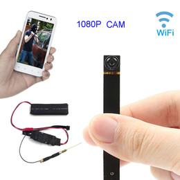 Wholesale view ip camera - HD1080P Mini Wifi Camera P2P Wireless IP Camera Motion Detection Remote View Super Mini DIY Button Camera