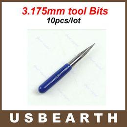 Wholesale Pcb Router Bits - 10 pcs lot! 3.175mm Carbide PCB Engraving tool Bits CNC Router Tool 20 Degree 0.2mm