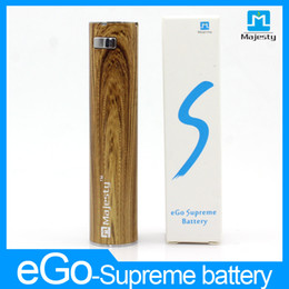 Wholesale Electric Cigarette Battery Ce4 - Hot Ecig Ego Batteries eGO-supreme 2200mAh Electric Cigarette Battery with 4 Colors vs Ego Twist CE4 Ego T Battery