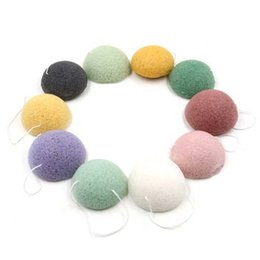 Wholesale Pure Body Cleanse - Big discount Konjac Sponge Puff Herbal Facial Sponges Pure Natural Konjac Vegetable Fiber Making Cleansing Tools For Face And Body 1000pcs