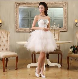Nueva moda de vestidos de noche con abalorios novia vestido corto bola de fiesta vestido de fiesta regreso a casa / graduación vestido formal desde fabricantes