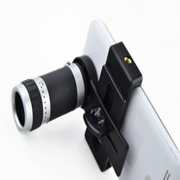 Wholesale 8x Lens For Galaxy S3 - Camera Lens 8X Telescope Zoom Telephoto for iPhone 4 4S 5 5S 5C 6 Samsung Galaxy S S2 S3 S4 S5 Note 2 3 Mobile Phone Smartphone A5
